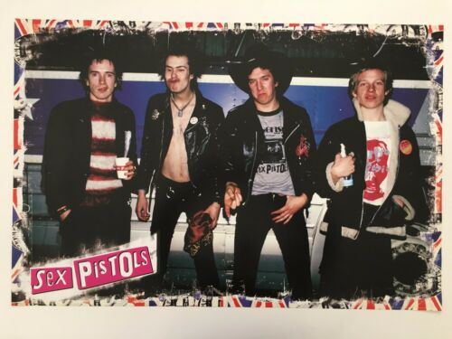 SEX PISTOLS, AUTHENTIC 2008 POSTER