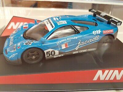 Very Rare 1/32 Scale Ninco 50397 1995 McLaren F1 GTR Jacadi Collector Grade