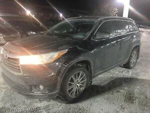 2015 Toyota Highlander XLE AWD *GPS, BLUETOOTH, CUIR*