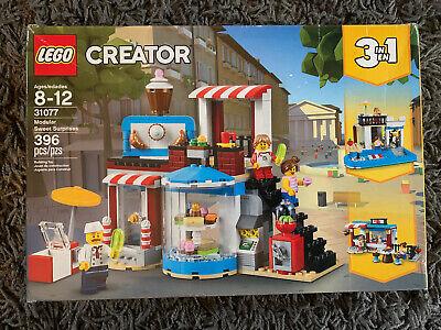 LEGO Creator 3 in 1 Modular Sweet Surprises Set 31077 New, Sealed!