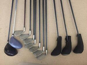 ACER Golf Clubs Right Handed 2 drivers - 3 woods - 7 irons Mernda Whittlesea Area Preview