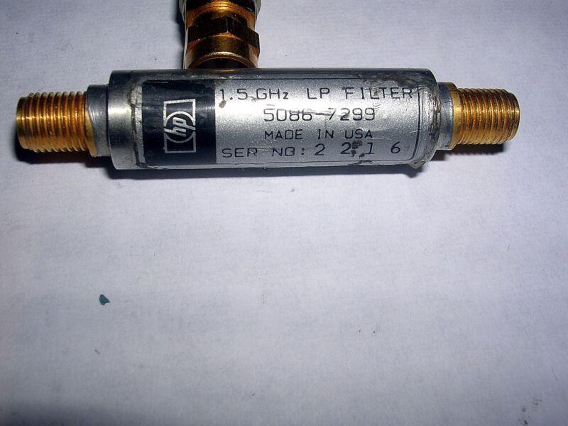 HP AGILENT 5086-7289  LOW PASS FILTER