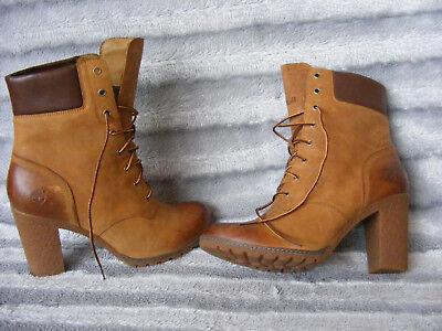 Ladies Timberland Earthkeepers EK Glancy 6 inch Ankle Heeled Boots UK 9 EU 42