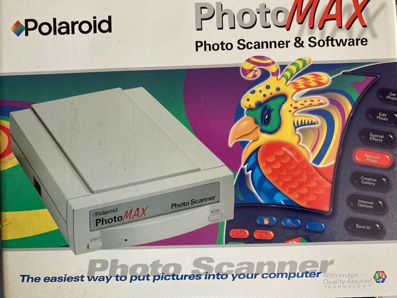 POLAROID PhotoMAX Photo Scanner & Software. 35mm Print 1200