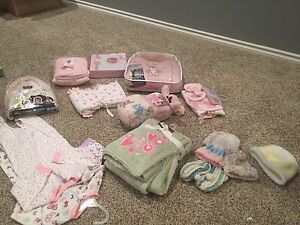 Lot of 13 items brand new with tags for baby girl