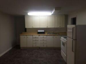 1 Bedroom Inclusive Basement Apartment