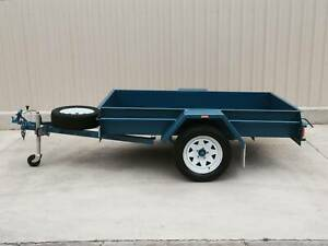 KESSNER 7 X 4 HEAVY DUTY COMMERCIAL SINGLE AXLE BOX TRAILER Pooraka Salisbury Area Preview