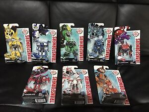 Transformers - 8 x brand new and sealed toys Glendenning Blacktown Area Preview