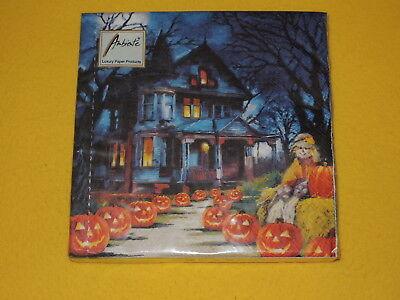 Halloween gruselig Haus Vogelscheuche 1 Packung OVP Kürbis (Halloween Spooky Kürbis)