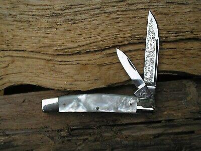 VINTAGE GERMAN FIGHT'N ROOSTER ( CAPTINS ROOSTER ) MOP RARE CONGRESS JACK KNIFE