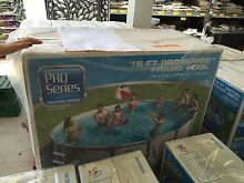 Above ground pro series frame pool 16 foot swimming pool Woody Point Redcliffe Area Preview