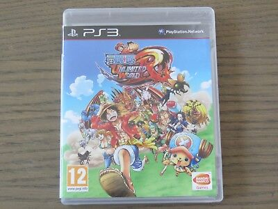 JEU PLAYSTATION 3 PS3 ONE PIECE UNLIMITED WORLD RED EN FRANCAIS