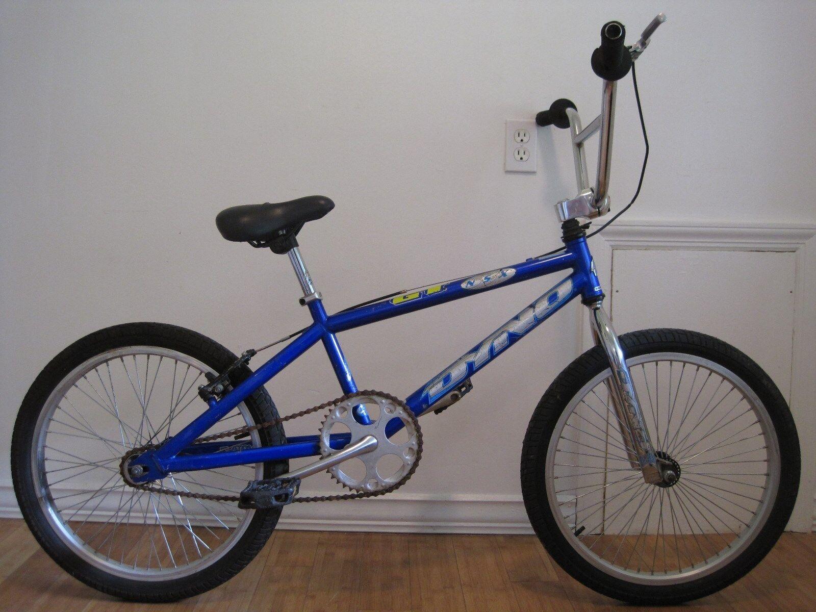 "Clean used GT Dyno NSX 20"" freestyle race bmx bike old mid school survivor find"