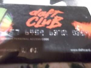 Daft Punk Kreditkarte 12 2002 von meiner damaligen CD - Steyr, Österreich - Daft Punk Kreditkarte 12 2002 von meiner damaligen CD - Steyr, Österreich