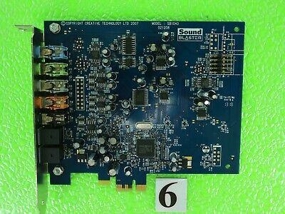 Dell Creative SB1040 Sound Blaster X-Fi Xtreme Audio PCI-E Sound Card