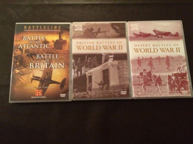 World War II - The Greatest Battles (DVD, 2007) 1939-1945, uk dvd