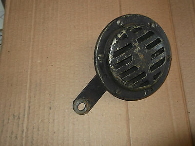 Early style 12volt horn  from Citroen 2cv (1950/6's) after market fit