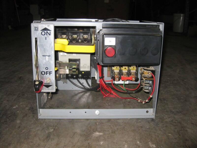 Square D Model 5 Size 2 Starter 30 Amp Breaker MCC Motor Control Bucket 30A Sz2