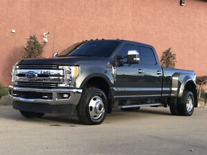 2017 Ford F-350 SuperCrew Dually 6.7L Lariat LOADED Panorami Lar