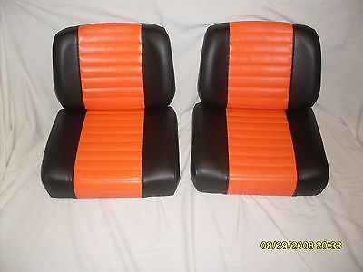Harley davidson  golf cart seat set