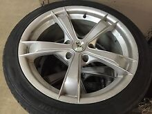 """18"""" alloys to suit Holden on tyres! Cheap!!! 235/40/18 tyres Elwood Port Phillip Preview"""