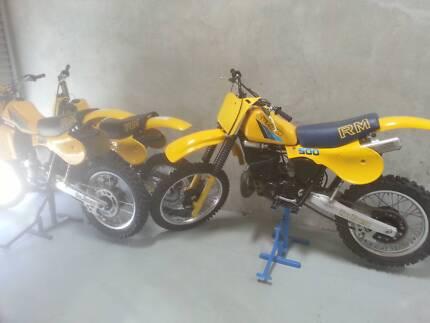 1983 RM SUZUKI  500 & 250 & 125