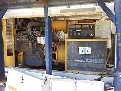 Kohler Fast Response Ii 40 Kw Generator - 40r0z271 W Cummins 4b 3.9 Diesel