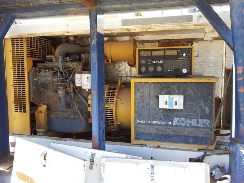 Kohler Fast Response II 40 kW Generator - 40R0Z271 w/ Cummins 4B 3.9 Diesel