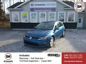 2015 Volkswagen Golf 1.8 TSI Comfortline LEATHER! NAV! LED LI...