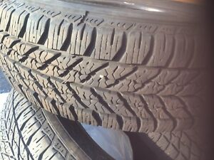 Tire Good year 15 hiver (215/70 R15) winter