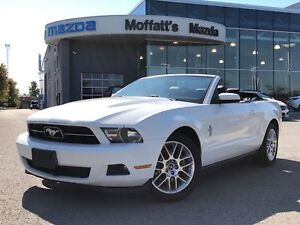 2012 Ford Mustang V6 PREMIUM. CONVERTIBLE, 6-SPEED MANUAL