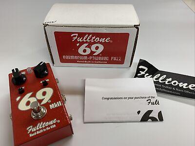 FULLTONE '69 Pedal Mkii - Mark 2 - Fuzz - New