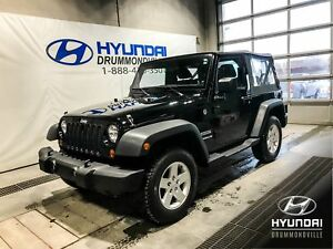 JEEP WRANGLER SPORT MANUEL + MAGS  + CRUISE + SUPER PROPRE + WOW