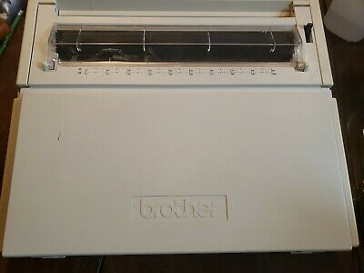 Brother Ax-350 Portable Daisy Wheel Electronic Typewriter Used