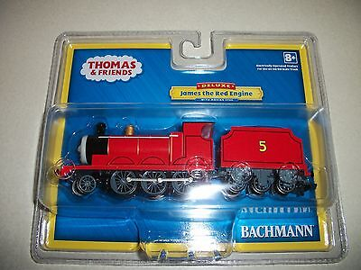 BACHMANN 58743 DELUXE THOMAS AND FRIENDS - JAMES WITH MOVING EYES / NEW