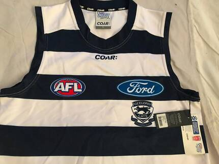 2017 Geelong Cats Mens Home Jersey Brand New W/ Tags