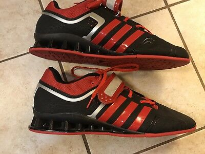 ec7b8e2f0ad7 Adidas Men s Adipower Weight Lifting Black Red Shoes Size 13.5 Good  Condition for sale Beaverton