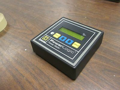 Square D Power Logic Power Meter 3020 Pmd-32 Used