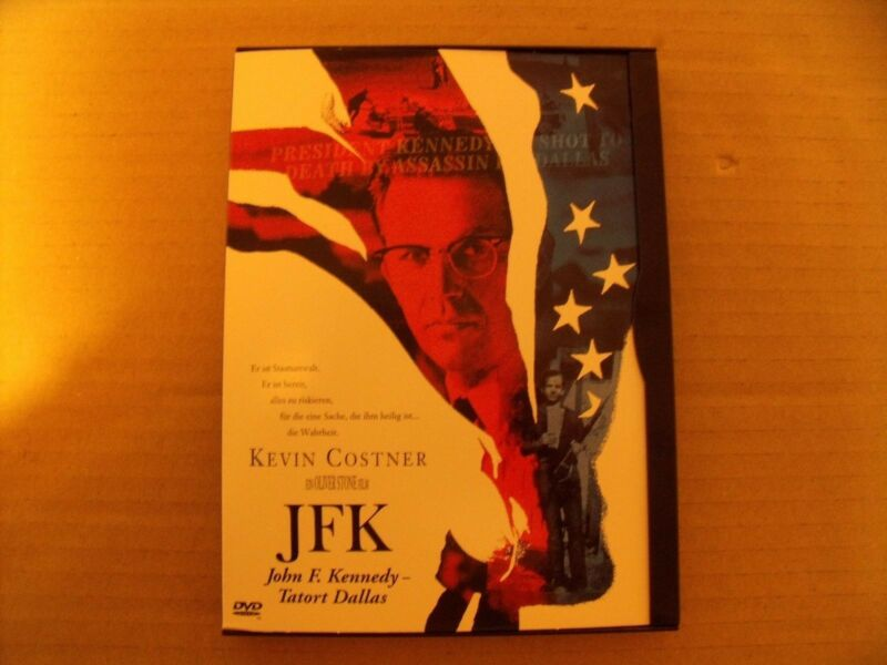 JFK - John F. Kennedy - Tatort Dallas auf DVD