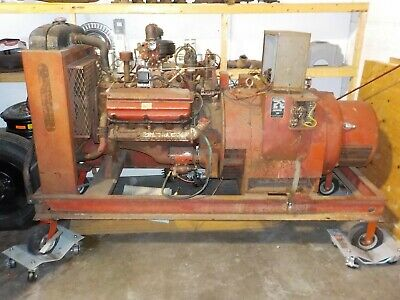 Ready Power Industrial Generator With Chrysler 331ci V8 Hemi Motor For Race Car