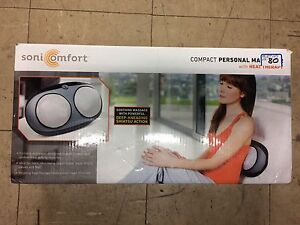 Sonicomfort Personal Massager w/ Heat Therapy
