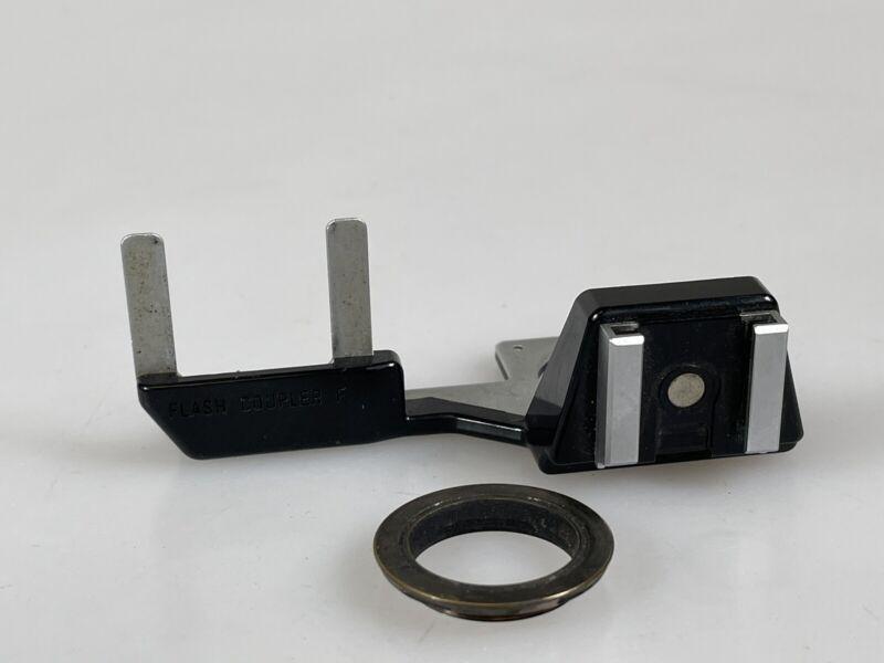 Genuine Canon Camera Flash Coupler F For F-1 w/ Hot Shoe