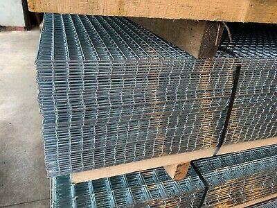 Galvanised Welded Mesh Panel 8ft x 4ft x 1