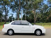 2000 Hyundai Accent Sedan GLS Automatic Log books service White Moorebank Liverpool Area Preview