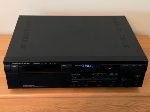 Harman Kardon TD4600 Cassette Deck - with remote