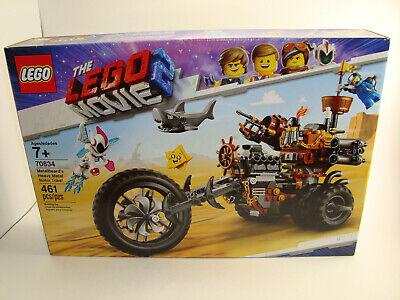 NEW LEGO 70834 The Movie 2 MetalBeard's Heavy Metal Motor Trike 461 Piece