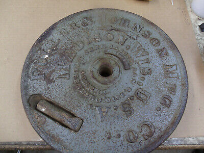Fuller And Johnson Pump Jack Hit Miss Flywheel Mt-4824