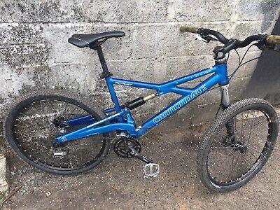 Large Cannondale Prophet Full Suspension Lefty Fork Mountain Bike.