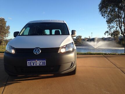 2015 Volkswagen Caddy Van/Minivan LWB TDI Bluemotion 7 Speed DSG West Perth Perth City Preview