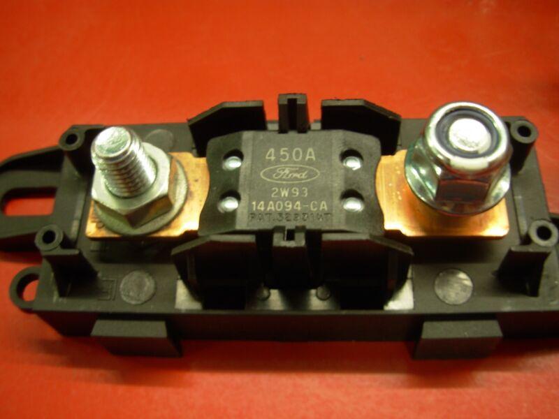 MEGA® Style Fuse //// Bolt-down Fuse Holders and Fuse ////////